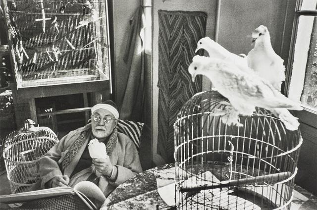 Henri Cartier-Bresson, 'Henri Matisse, Vence, France', 1944, Phillips