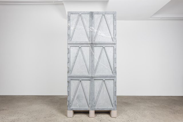 ", '""Relief Stone Cabinet"",' 2016, Chamber"