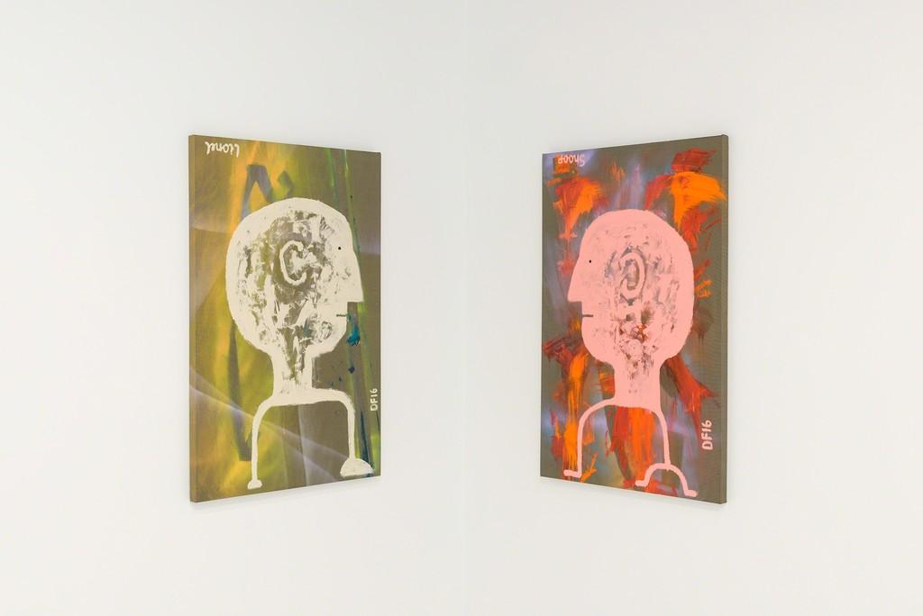 Danny First, 'Case Study', installation view, Chimento Contemporary. Photo: Ruben Diaz