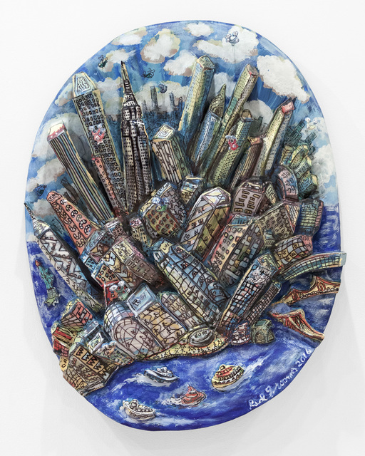 , 'Manhattan Moves Up,' 2016, Marlborough Gallery