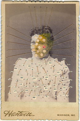 , 'Woman with Numbers,' 2007-2010, Muriel Guépin Gallery