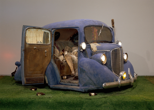 , 'Back Seat Dodge '38,' 1964, National Gallery of Art, Washington, D.C.