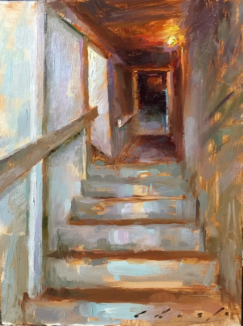 , 'Stairway to Belltower,' 2016, Gallery 1261