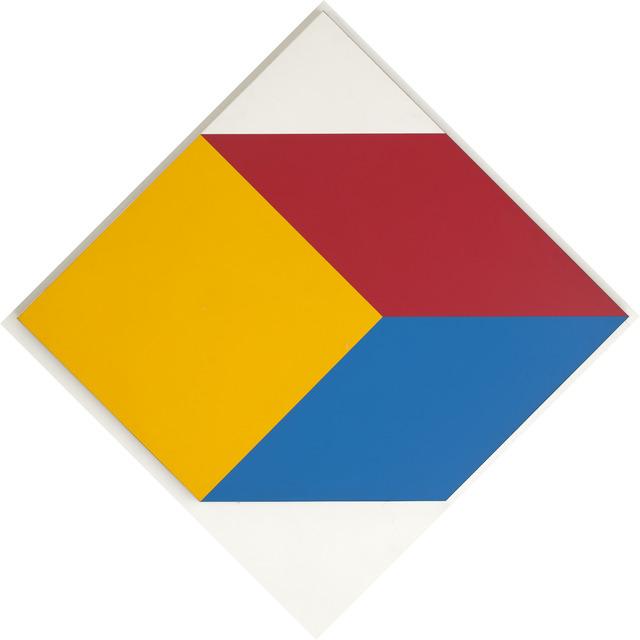 , 'Cubo em três cores,' 1985, Dan Galeria
