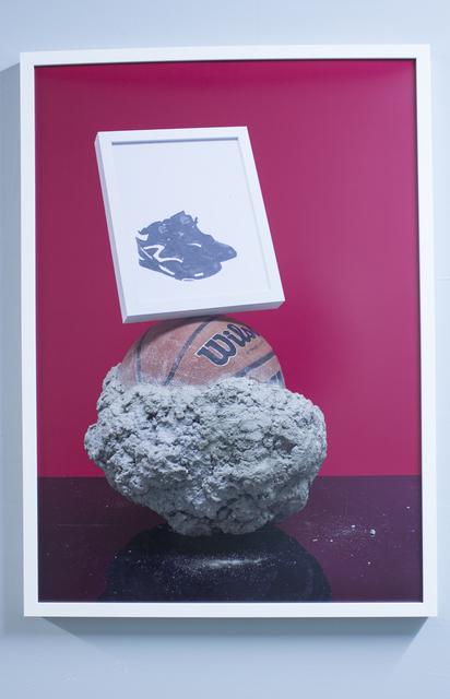 , 'Crushin' Rocks On Black Tops In Xerox Reeboks,' 2014, Pablo Cardoza Gallery