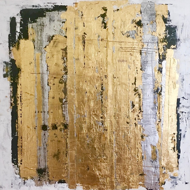 , 'Layered Gold,' , Chicago Art Source