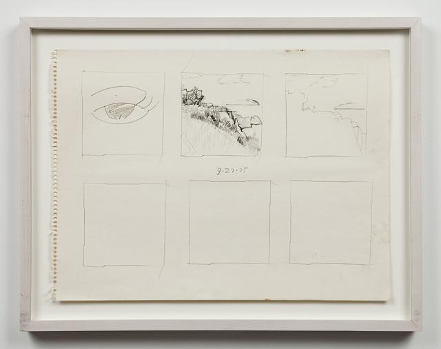 , 'Untitled (9/27/75),' 1975, Mai 36 Galerie