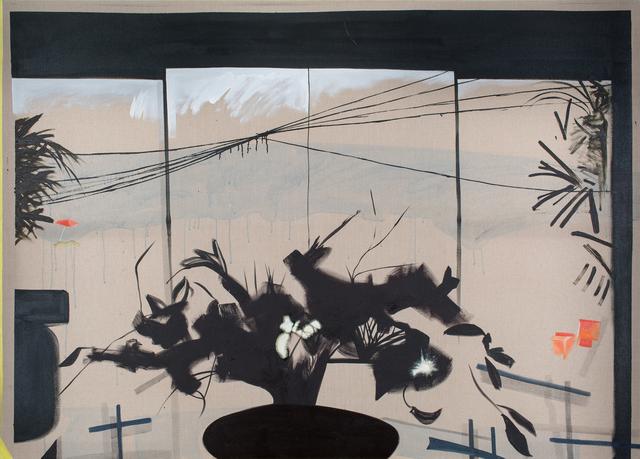 Caragh Thuring, 'Untitled (asian window)', 2015, Simon Preston Gallery