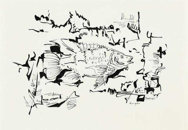 Walter Battiss, 'Kurper', Dale Sargent Fine Art