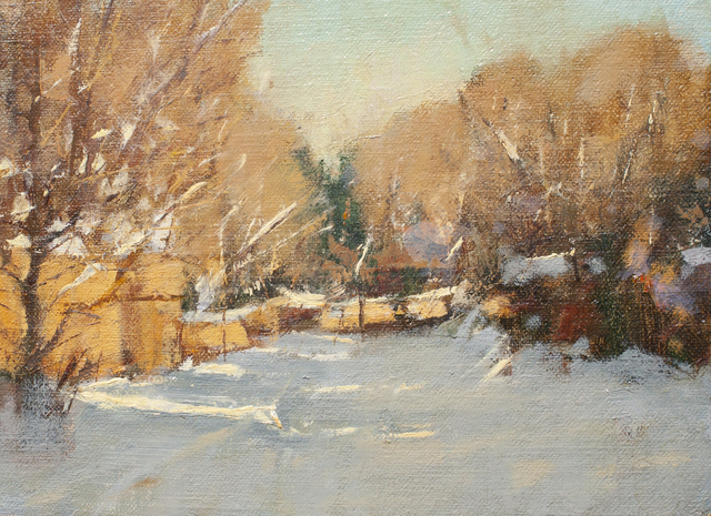 , 'Snowy Street Study,' Unknown, Ventana Fine Art