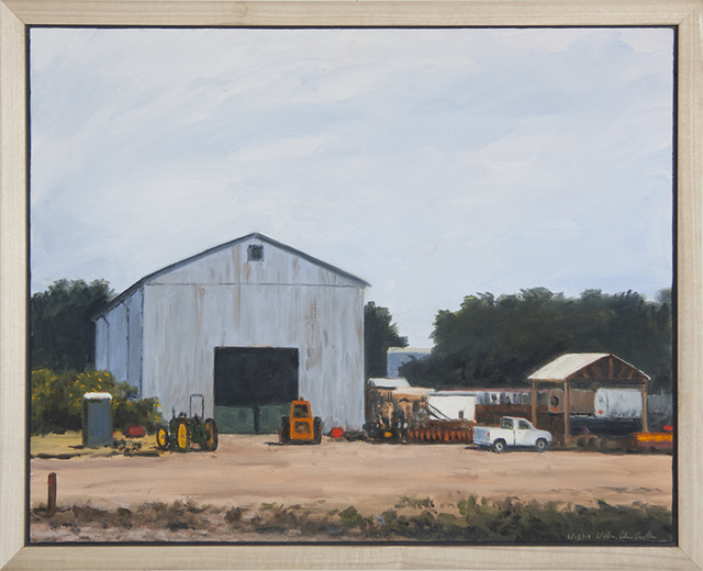 ", '""Egger's Barn"",' 2017, Scott White Contemporary Art"