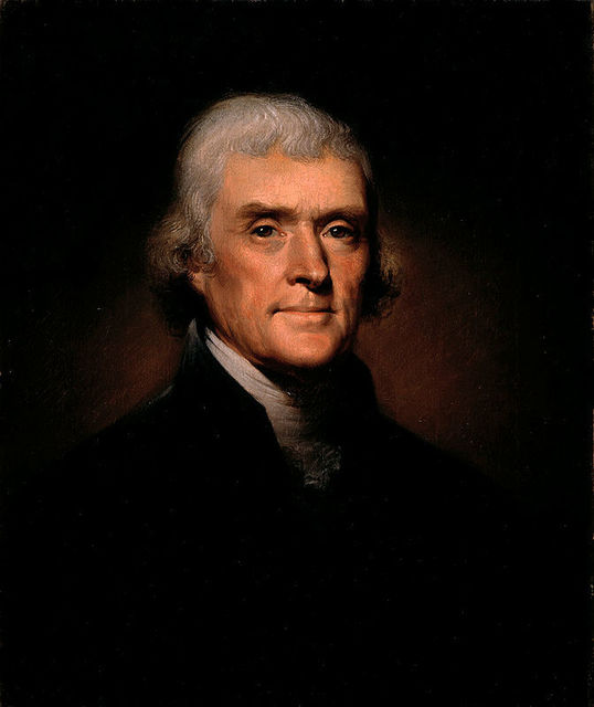 , 'Thomas Jefferson,' 1800, White House Historical Association