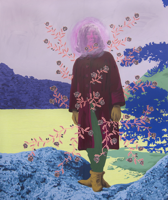 Daisy Patton, 'Untitled (Woman with Pansies)', 2018, k contemporary