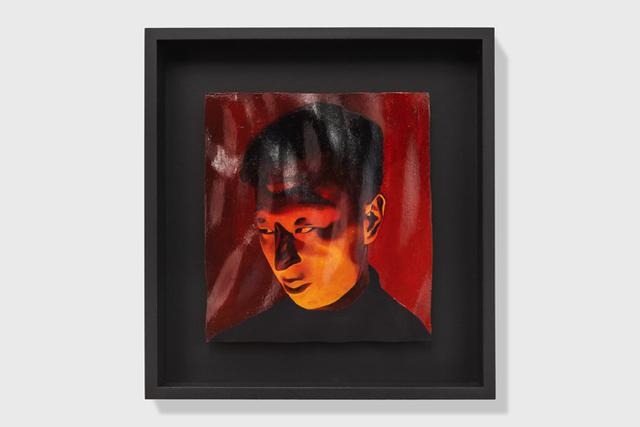 , 'Ritratto rosso,' 2018, Francesca Minini