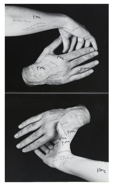 , 'Le mie parole e tu?,' 1971, Frittelli Arte Contemporanea