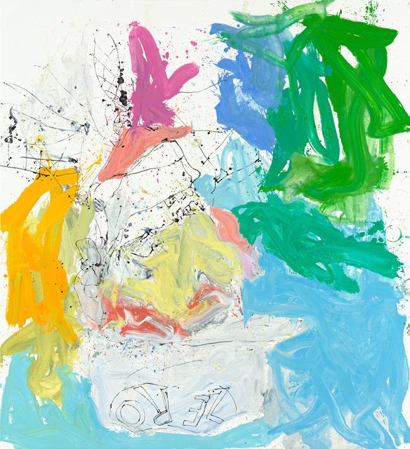 , 'Ill wam ruch nichtet mehr (Ill bar fe well),' 2013, Gagosian Gallery