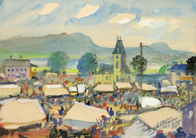 , 'Amusement Park in Altaussee,' , Galerie Kovacek & Zetter