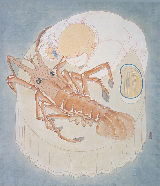 , 'Treating the Lobster,' 2011, ART LABOR Gallery
