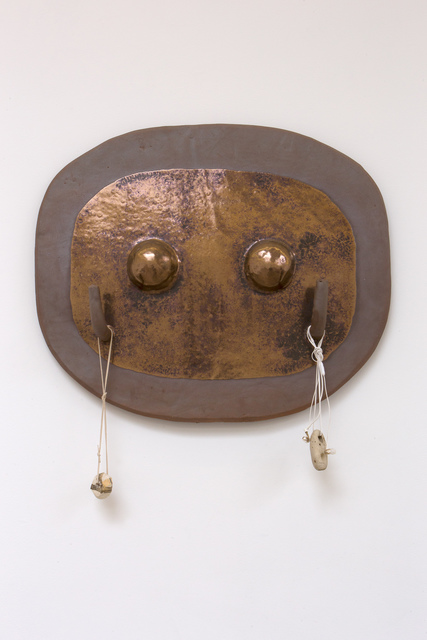 Anna Sew Hoy, 'Breastplate, Electric Brown', 2019, VARIOUS SMALL FIRES