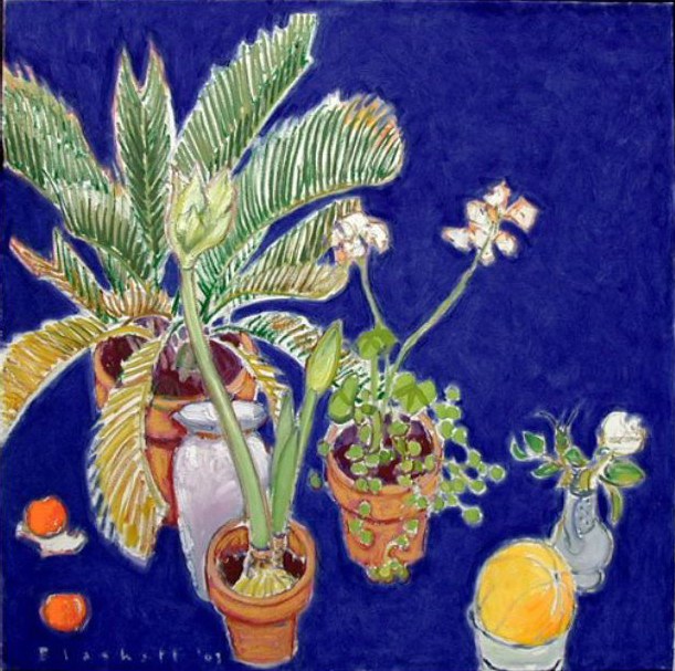 , 'White Amaryllis, Palm and Melon,' , Bau-Xi Gallery