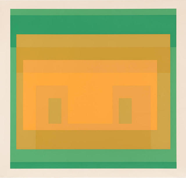 Josef Albers, 'I-S Va 6, from Six Variants', 1969, Print, Silkscreen, Gregg Shienbaum Fine Art