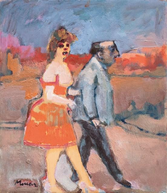 Mino Maccari, 'The stick of old age', 1970/'75, Finarte