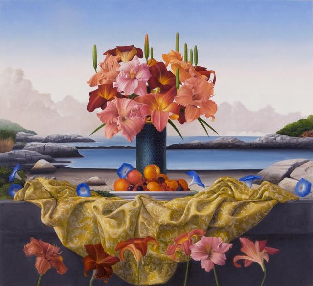 , 'Day Lilies Appledore,' 2015, Clark Gallery