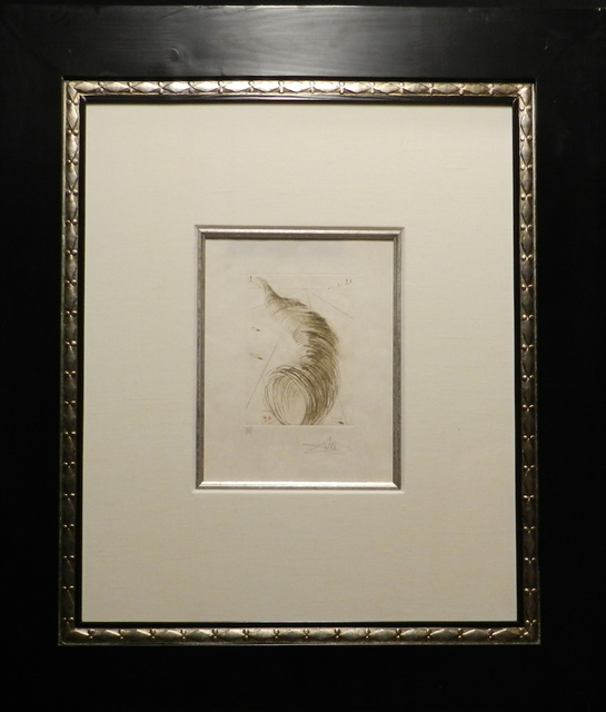 Salvador Dalí, 'Shakespeare II Timons of Athens', 1971, Print, Etching, Fine Art Acquisitions Dali
