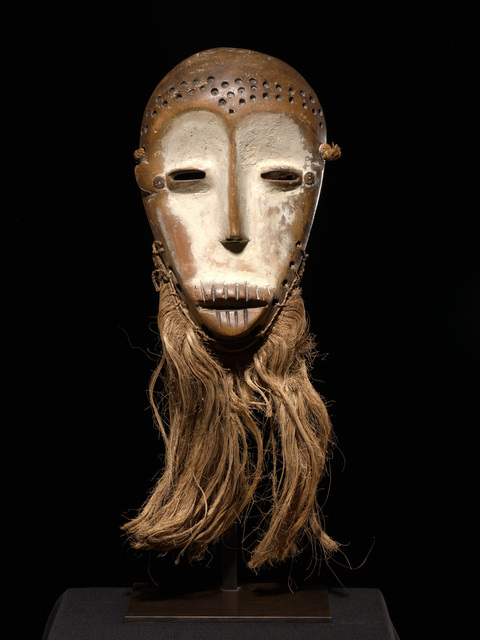 , 'Bwami mask, Lega, Democratic Republic of the Congo, Africa,' 19th Century, Tambaran