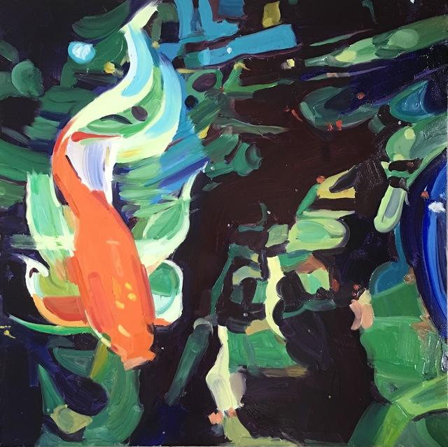 , 'Goldfish,' 2017, Rebecca Hossack Art Gallery