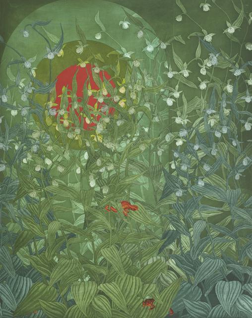 Julia Lucey, 'Sunrise Newts', 2019, Kala Art Institute