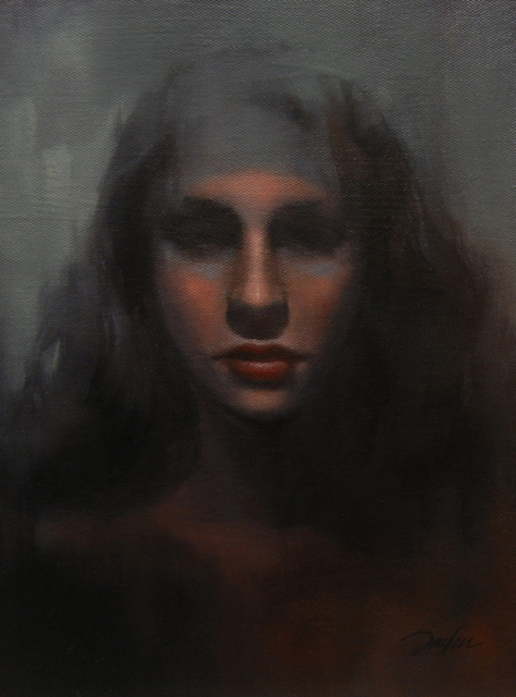 , 'Female Portrait 2,' 2015, Bowersock Gallery