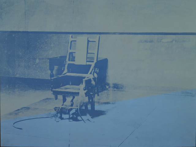 Andy Warhol, 'Big Electric Chair', 1967-1968, The Broad