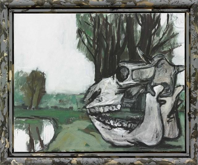 """, '""""Spiegelung"""",' 2014, Michael Werner Gallery"""