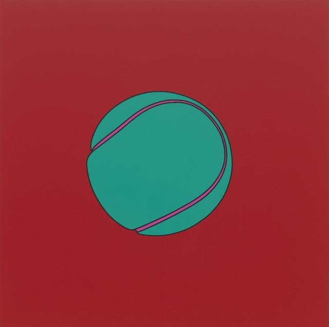 , 'Untitled (tennis ball),' 2014, Alex Daniels - Reflex Amsterdam