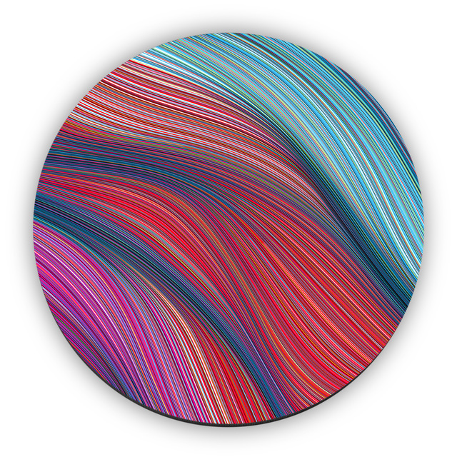 , 'Wave Circle,' 2018, StolenSpace Gallery