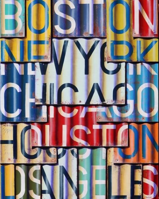 , 'Boston to Los Angeles,' 2017, Artspace Warehouse