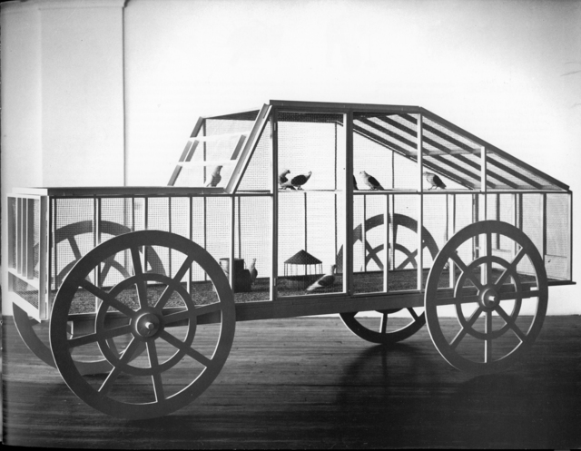 , 'The Pigeon Car,' 1987, P.P.O.W