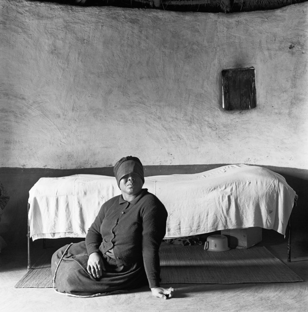 , 'A widow of three months, Flagstaff, Transkei,' 1975, Goodman Gallery