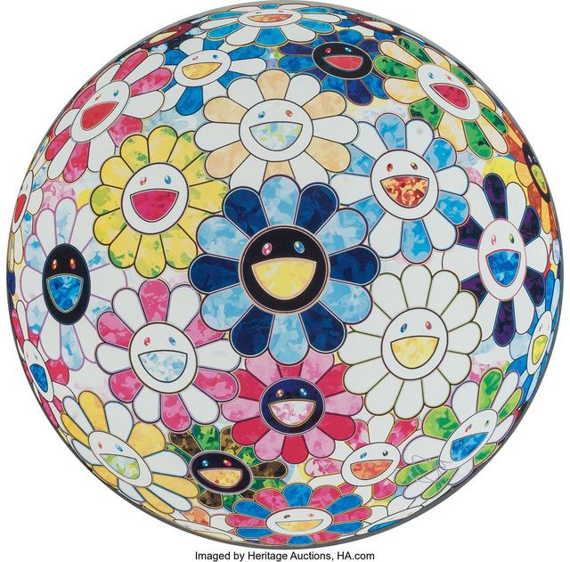 Takashi Murakami, 'The Flowerball's Painterly Challenge', 2014, Heritage Auctions