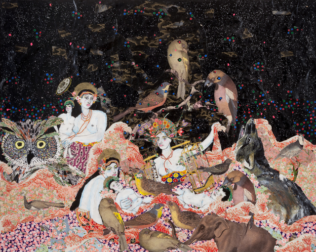 Maria Berrio, 'Nativity,' 2014, Praxis