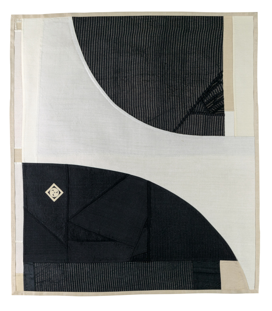 Debra Smith, 'To Allow Instead of to Try 03', 2019, Textile Arts, Pieced vintage silk, Haw Contemporary