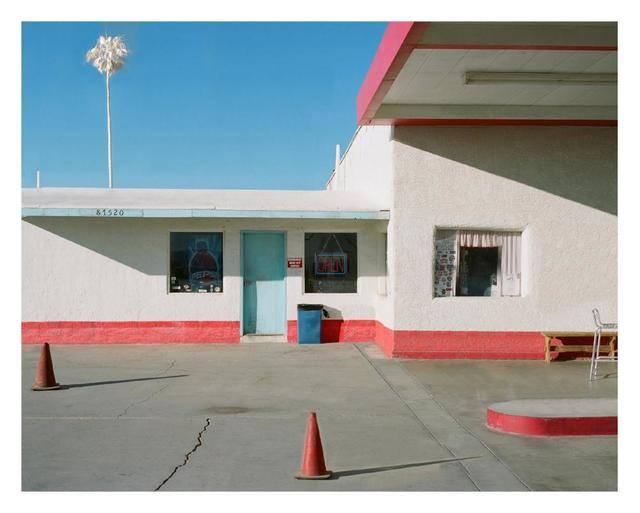 , 'Gas Station, Route 66,' 2018, Bau-Xi Gallery