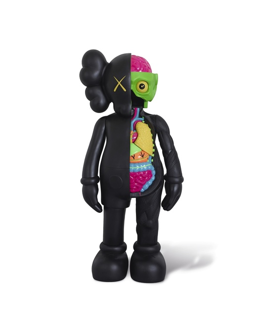 KAWS, 'Four Foot Dissected Companion (Black)', 2009, ArtLife Gallery