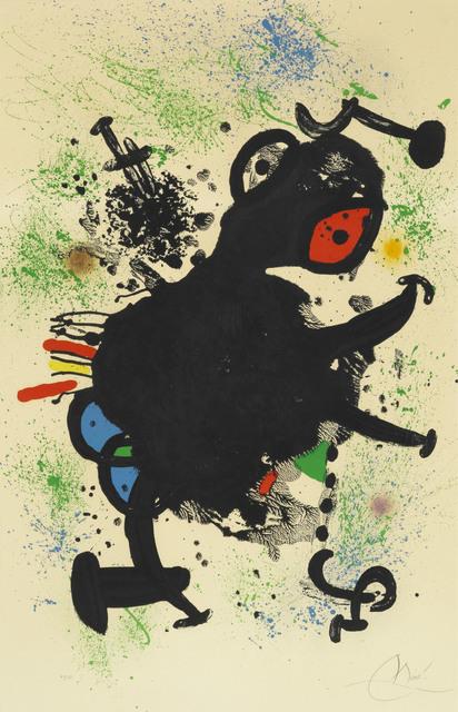 Joan Miró, 'La Rhinocérine', 1971, Le Coin des Arts