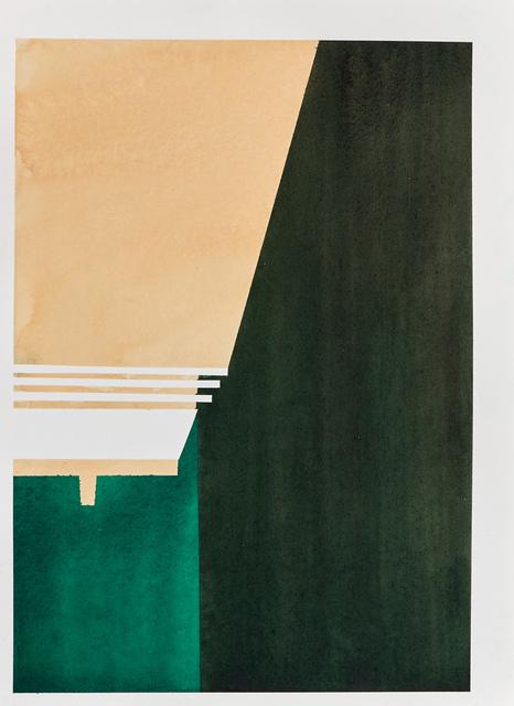 , 'Temple III,' 2017, Galerie Laurence Bernard