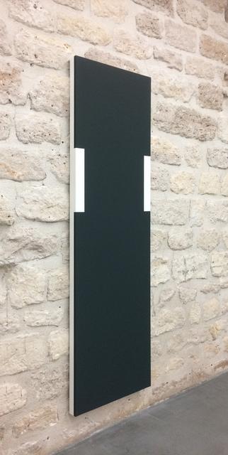 , 'Volume sombre serti au mur,' 2017, Galerie Jocelyn Wolff