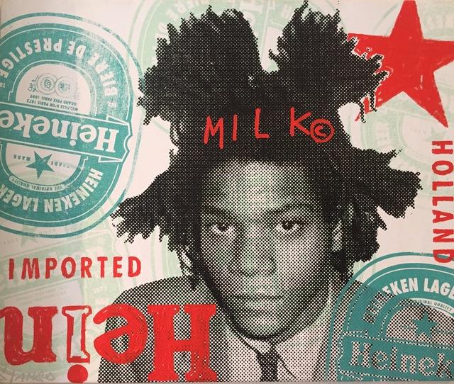 , 'Heineken Basquiat ,' 2017, Artist's Proof