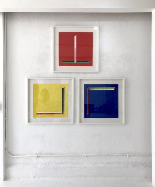 , 'Glassworks (I-III),' 2019, Superposition