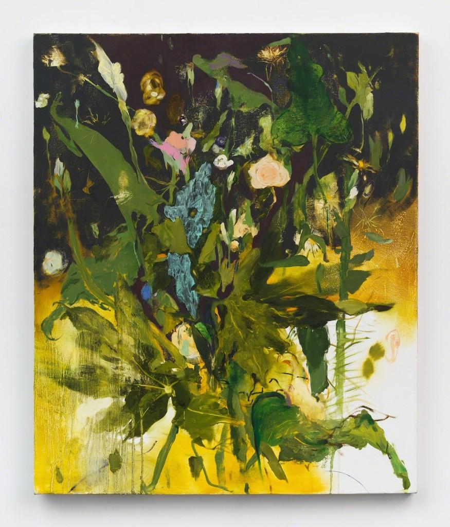 JENNIFER PACKER, SAY HER NAME, 2017. COURTESY OF THE ARTIST AND CORVI-MORA, LONDON.